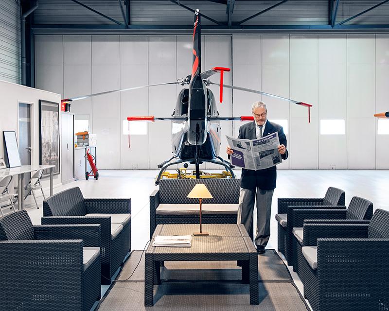 PRÉSIDENTS - Dominique Orbec, président de l'Union française de l'hélicoptère