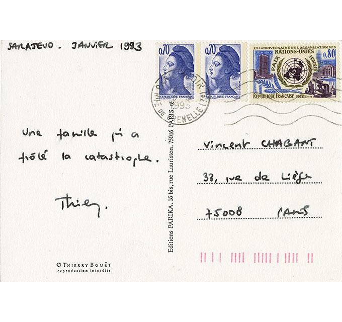 1993 Sarajevo verso