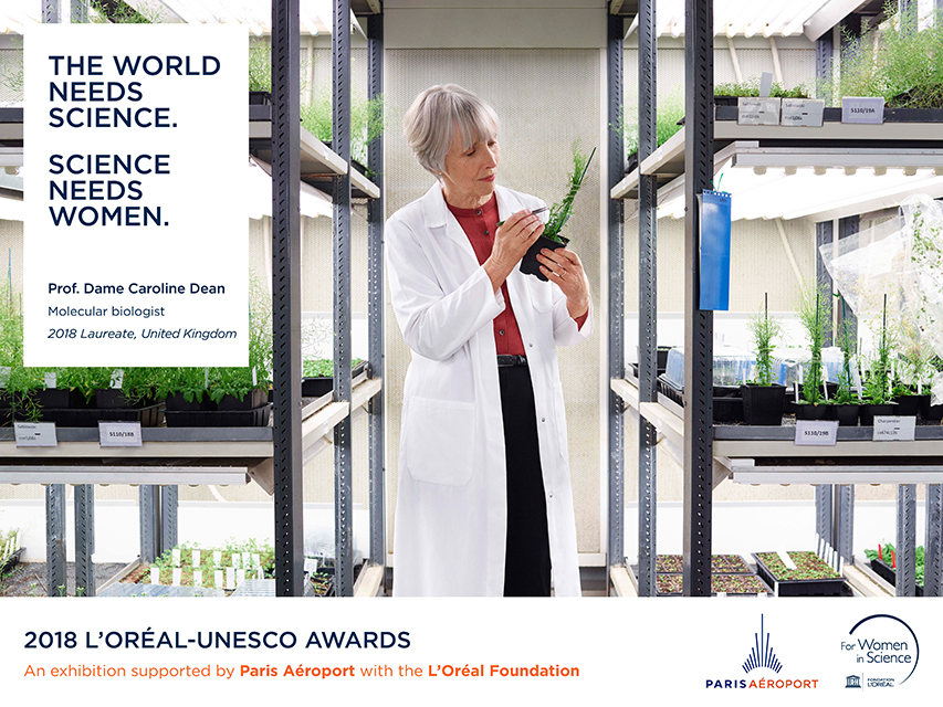 Campagne L'Oréal - Unesco FWIS 2018