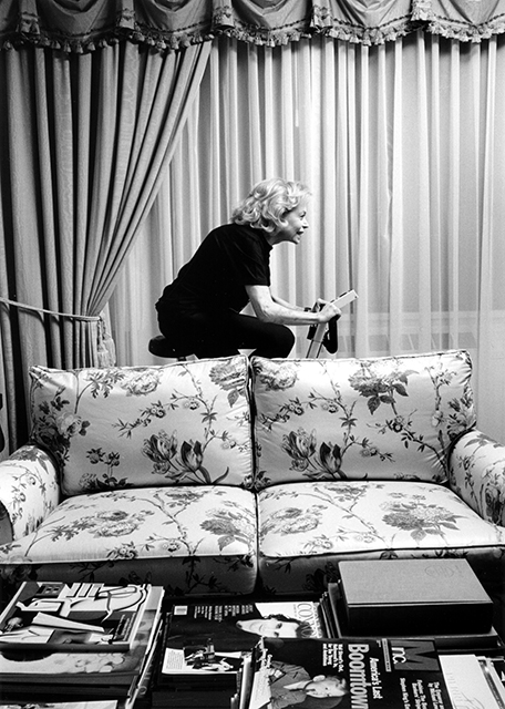 Marylin Evins, Hotel Pierre, New York