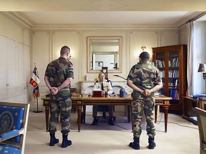 AT WORK Général Hervé Charpentier, gouverneur militaire de Paris