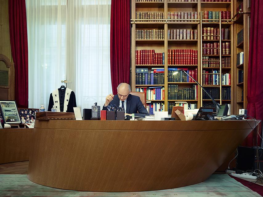 AT WORK Didier Migaud, premier président de la Cour des Comptes
