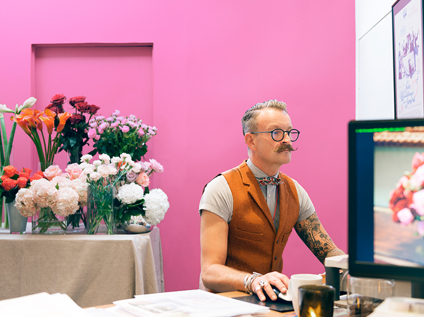 Symon Lycett, floral decorator