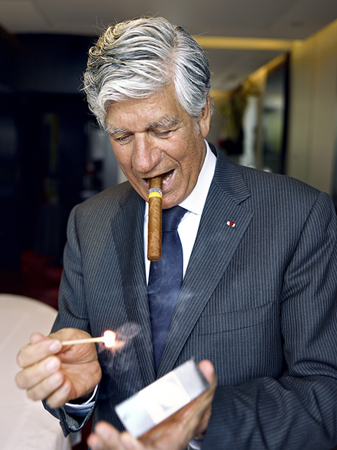 Maurice Lévy, CEO of Publicis Groupe
