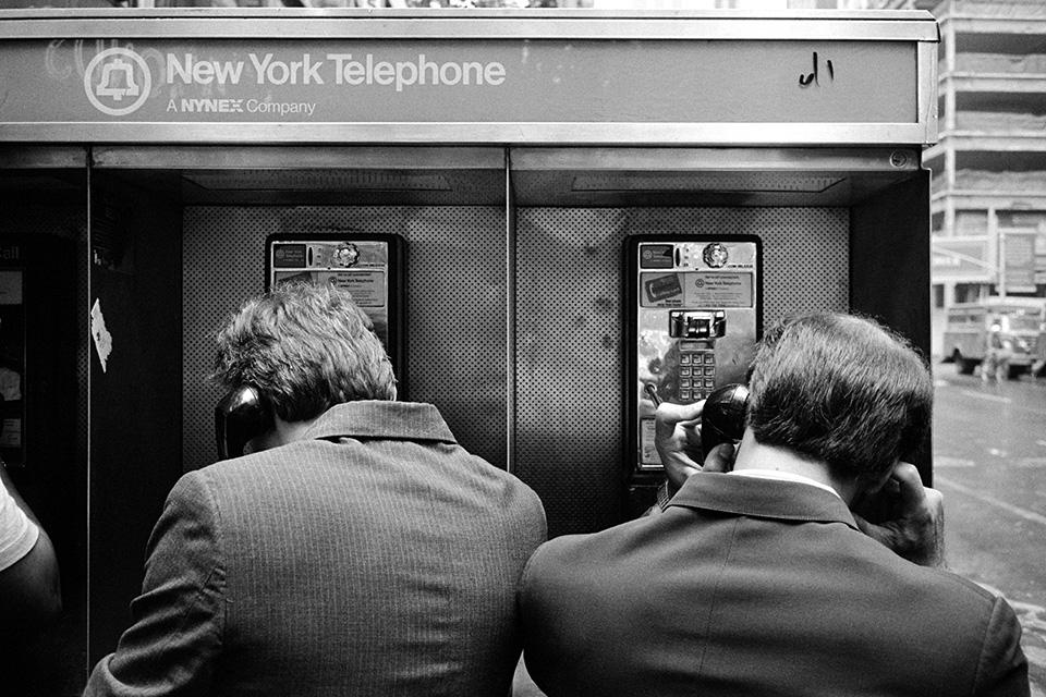 Cabines téléphoniques, New York