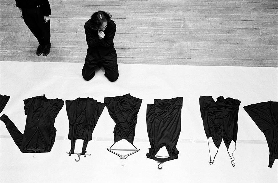 Yohji Yamamoto couturier, Paris