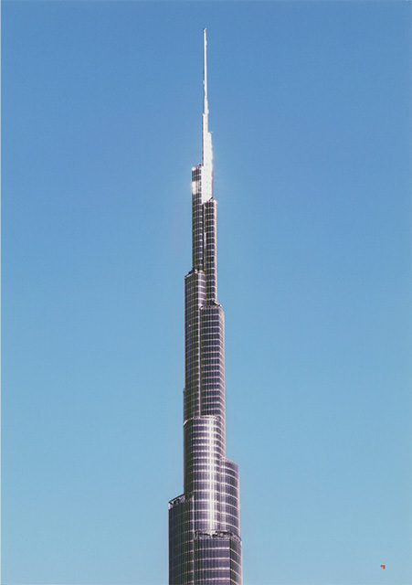 Burj Khalifa recto